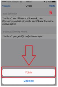 iOS Meb Sertifika 4