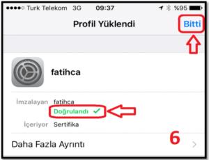 iOS Meb Sertifika 5